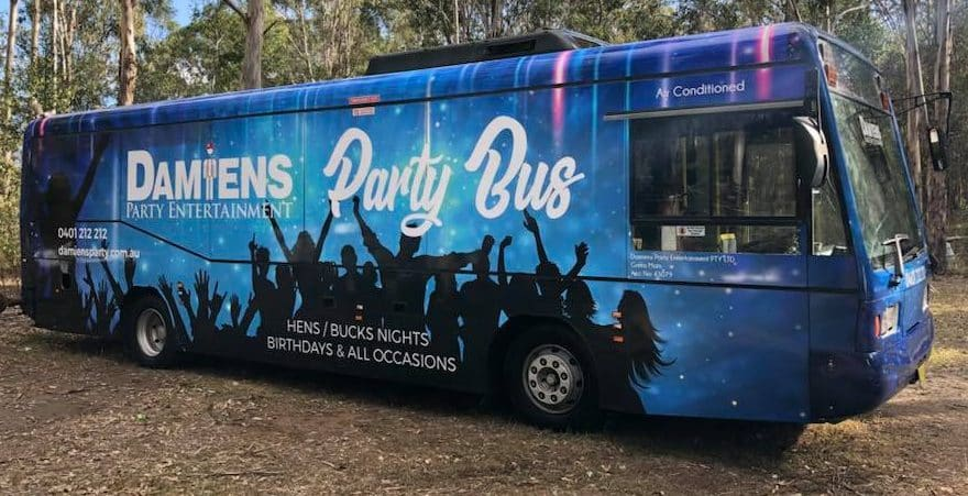 Hunter Valley Bucks Party Bus