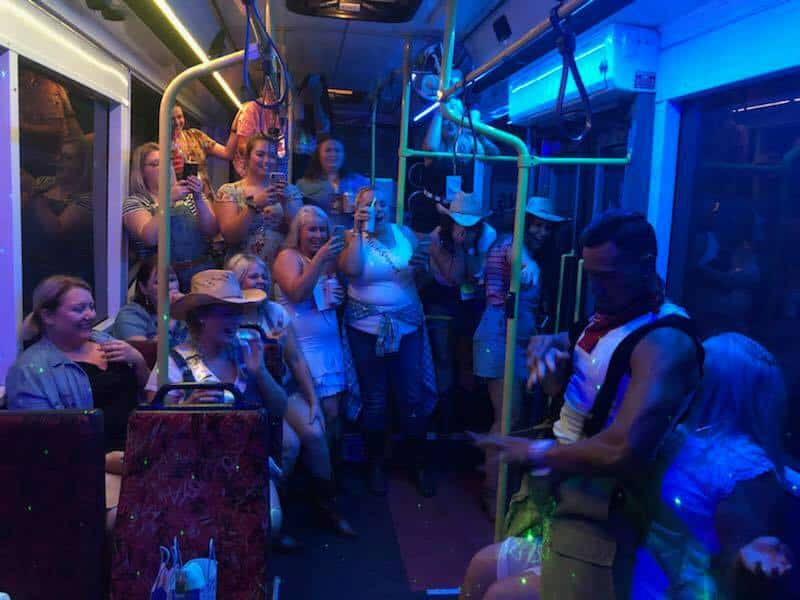 hunter valley hens party bus hire