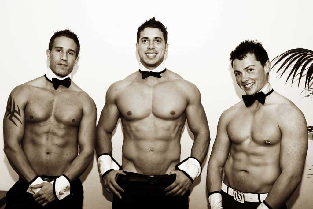 Nelson Bay Topless Waiters, Male Strippers