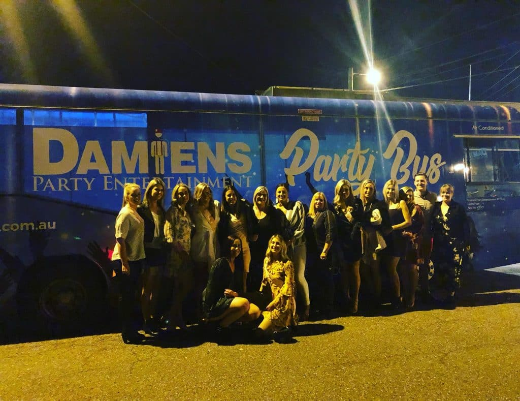 damiens party bus newcastle, Newcastle Hens Party Bus Hire