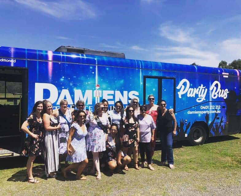 hire a party bus hunter valley, Newcastle Hens Party Bus Hire