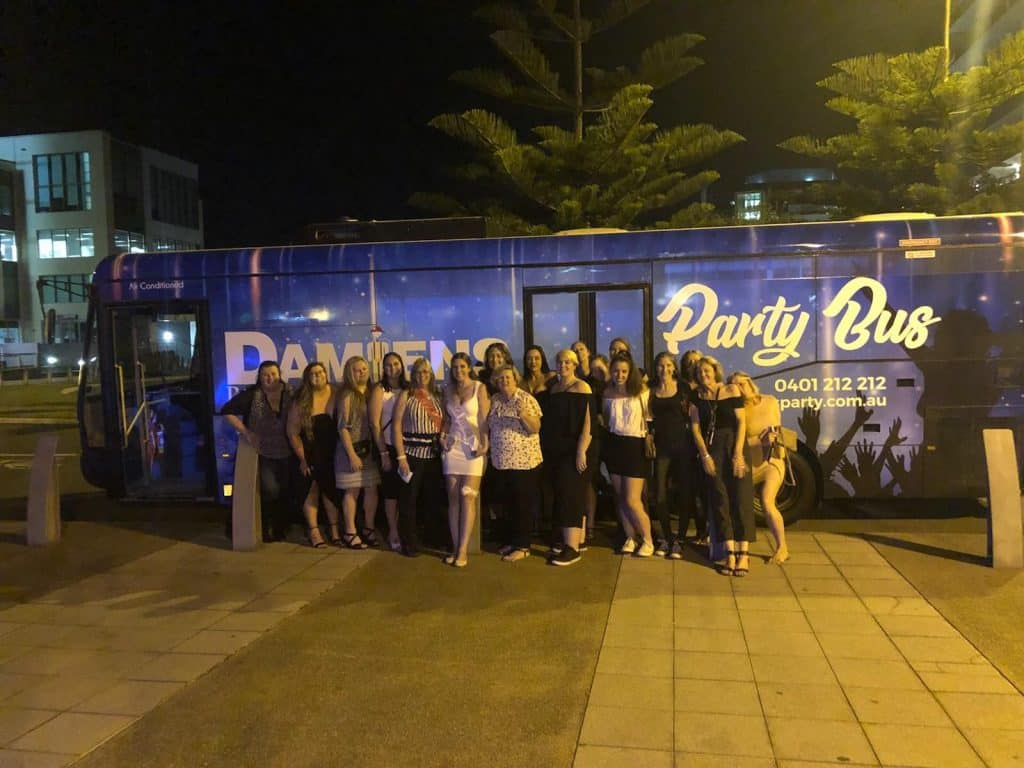 hire a party bus newcastle, Newcastle Hens Party Bus Hire