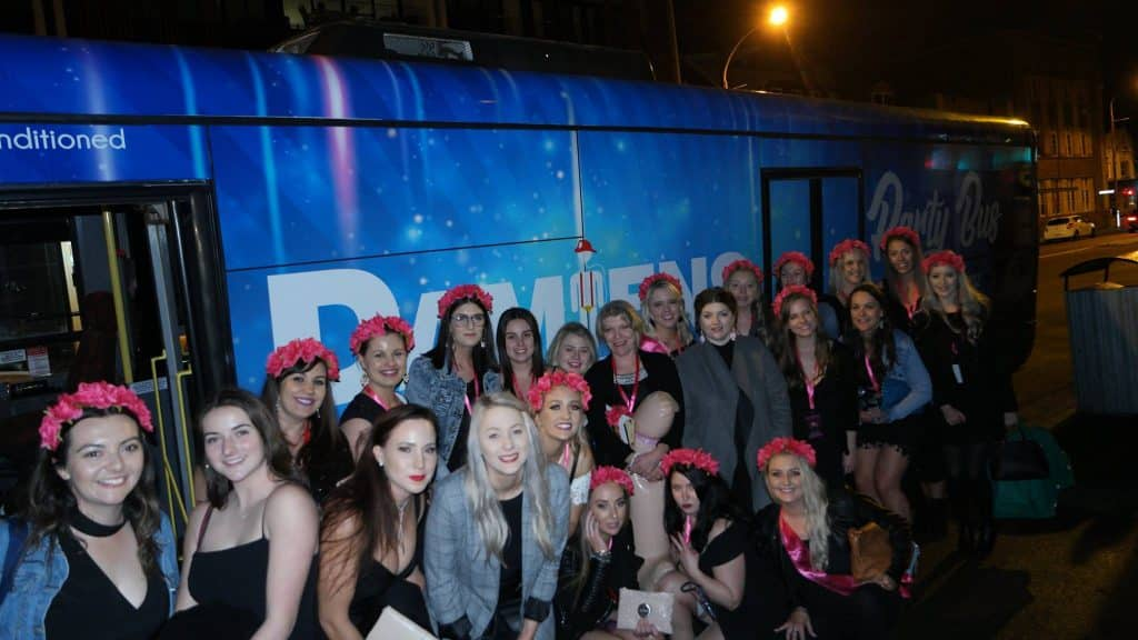 Newcastle Hens Party Bus Hire