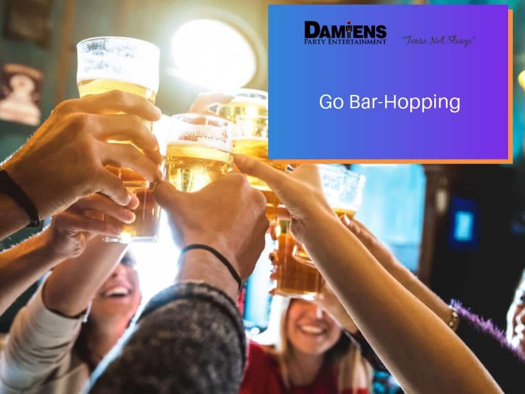 bar hopping newcastle party bus