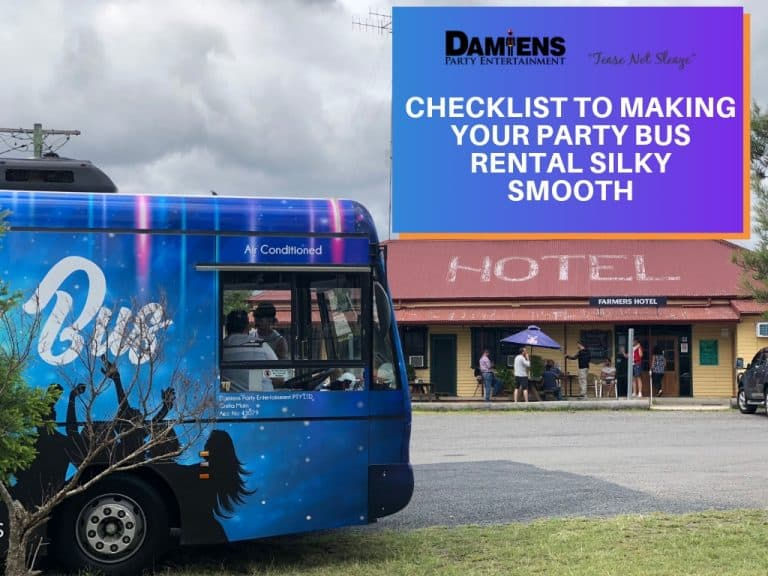 newcastle party bus rental checklist