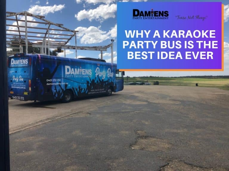 why newcastle party bus karaoke is the best idea ever