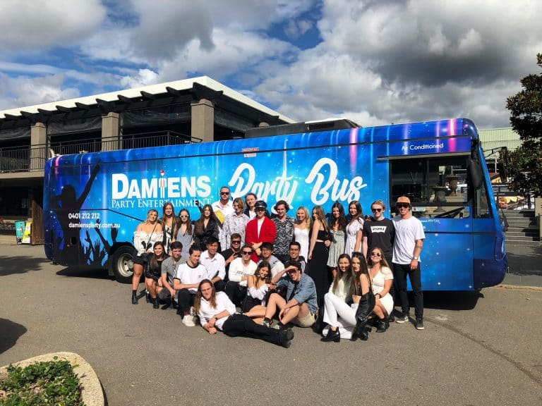 Hunter Valley party bus Harrigans