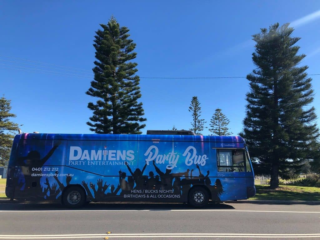 terrigal strippers party bus