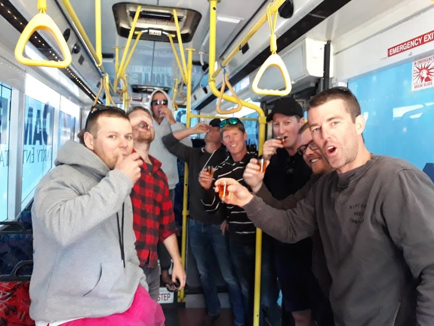 party bus central coast