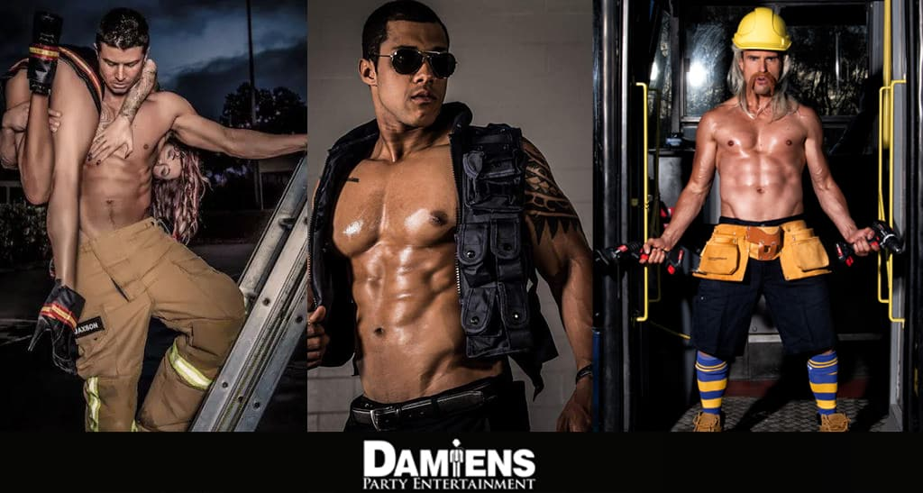 hens party male strippers newcastle