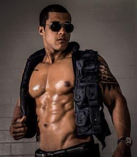 Bruno male stripper